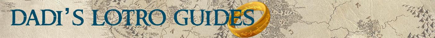 Dadi's Lotro Guides